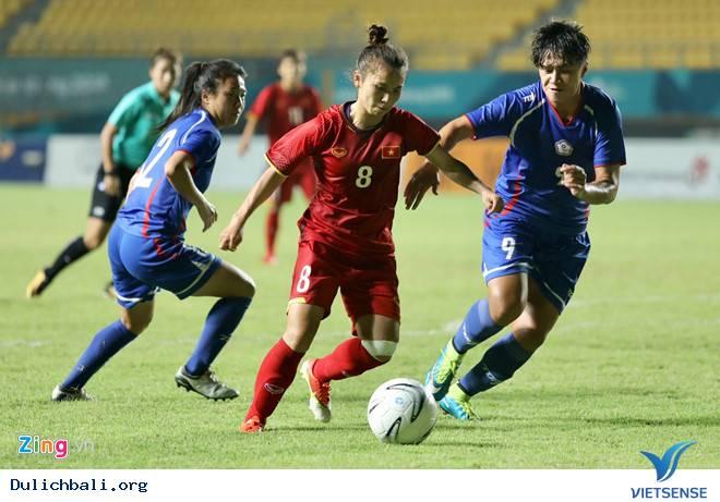 Đội tuyển bóng đá nữ Việt Nam tạm biệt Asiad 2018 trong sự tiếc nuối