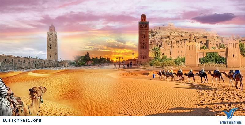 Maroc Điểm du lịch hút khách